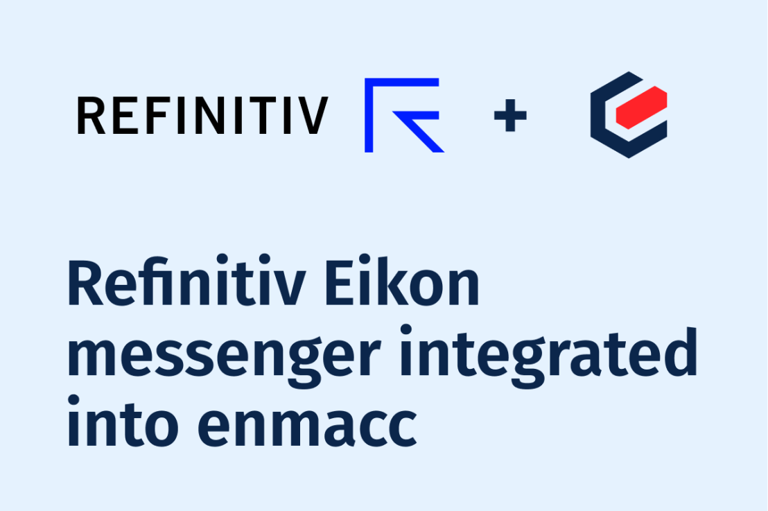 Enmacc partners Refinitiv with Eikon messenger integration