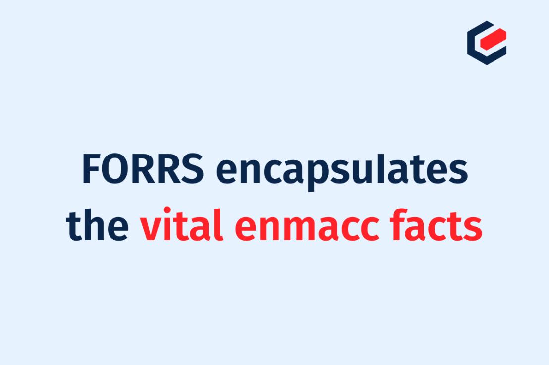 FORRS bringt die wichtigsten enmacc-Fakten auf den Punkt