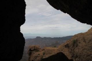 """Esta """"ventana"""" con vistas al Teide, me recuerda un poco al logo..."""