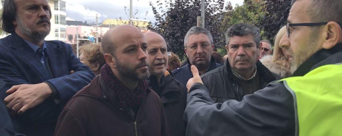 """Luís Villares: """"Recibimos un mandado claro dos traballadores e traballadoras de Alcoa para defender a industria electrointensiva dos ataques do oligopóleo eléctrico"""""""
