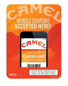 Camel Mobile Coupons