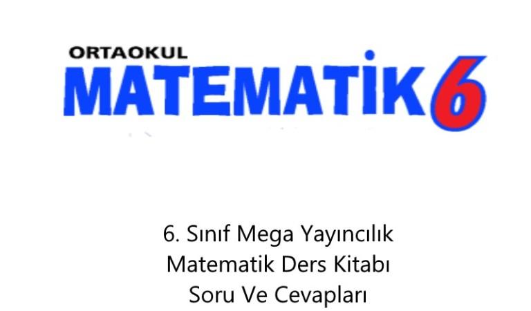 6. Sınıf Mega Yayıncılık Matematik Ders Kitabı Soru Ve Cevapları Sayfa 61