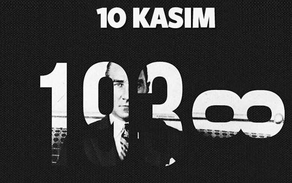 1O Kasım Atatürk'ü Anma Günü