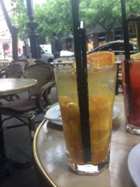 Limonade mangue-orange