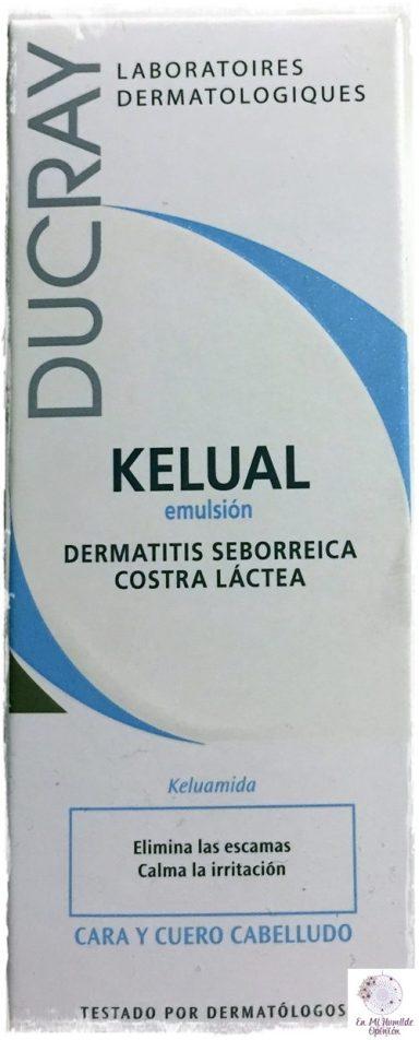 Kélual Emulsión, para la costra láctea del bebé (dermatitis seborréica)