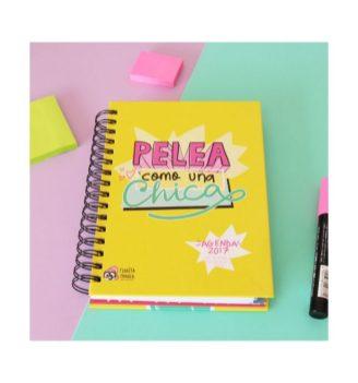 Agenda anual 2017 Pelea como una chica Pedrita Parker