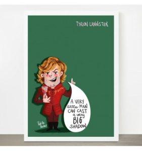 Lámina Tyrion de Juego de tronos Pedrita Parker