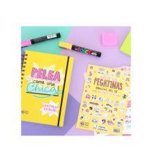 Pack Agenda escolar 2016-2017 + pegatinas extras Pedrita Parker