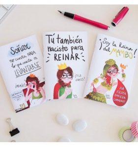 Pack Libretas Reina Pecas - Soñar, reinar y mambo Pedrita Parker