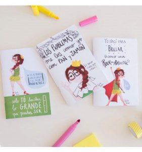Pack Libretas Reina Pecas - Tacones, jamón y RockandRoll Pedrita Parker