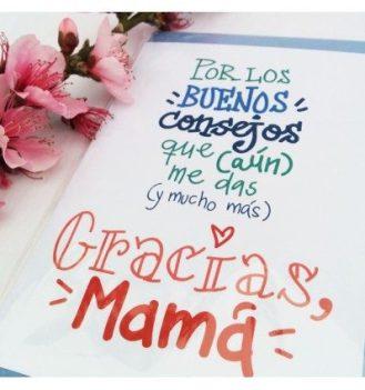 Tarjeta de felicitación consejos de mamá Pedrita Parker