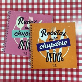 Pack álbumes DIY Recetas para chuparse los dedos Qué Way