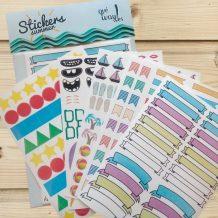 Stickers summer Qué Way