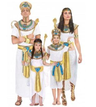 Disfraz familia Egipcios