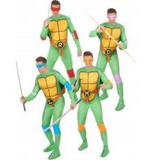 Disfraz grupo Tortugas Ninja™ adulto