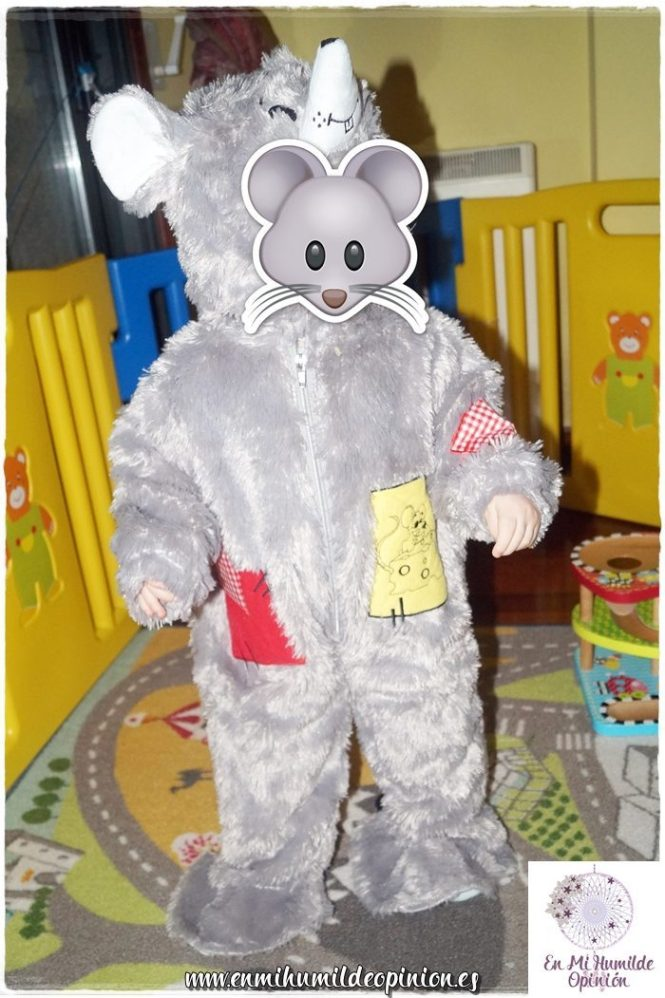 Disfraz de Ratón Peluche para bebé Disfrazzes