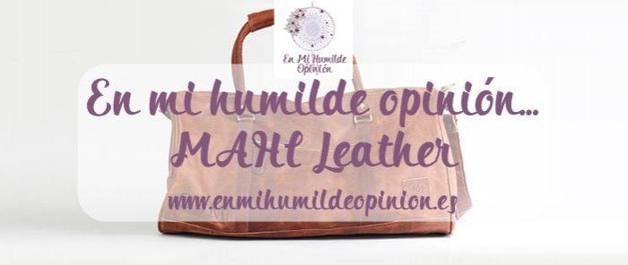 Mahi Leather, equipaje de cuero artesanal y solidario