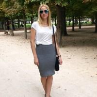 Tuileries in Monochrome