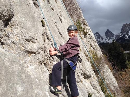 Escalade La Berche © en montagne