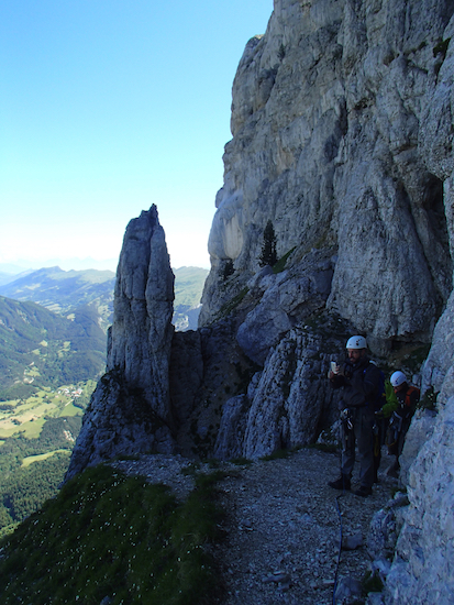 vue voie normale Mt Aiguille ©En Montagne Séjours