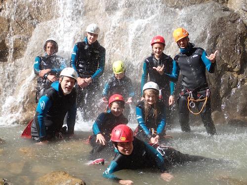 cascade au canyon ancelle ©en montagne
