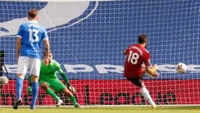 صورة يونايتد يتغلب على برايتون في مباراة مثيرة