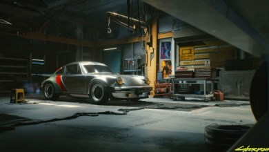صورة بورش تتصدر دور البطولية في لعبة سايبربنك 2077 بسيارتها 930 تيربو