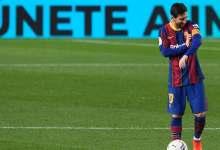 صورة كومان يستبعد ميسي من مباراة برشلونة الأوروبية مجدداً
