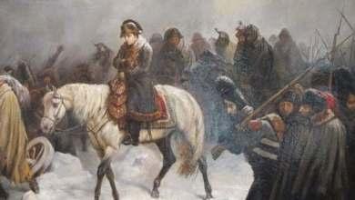 صورة حين هاجم نابليونروسيا..وخسر جيشه ورفضته امرأتان