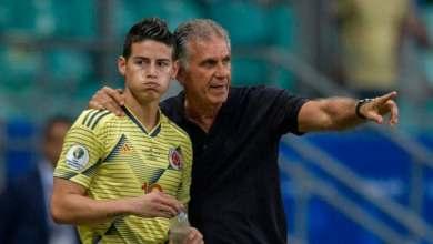 صورة إقالة البرتغالي كيروش من تدريب منتخب كولومبيا