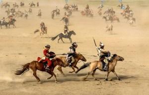 Horse Mongolia Warrior War Battle  - enkhtamir / Pixabay