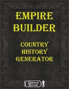 Empire Builder Kit - History Generator