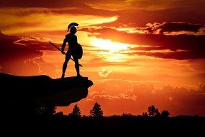 Spartan Army Sun Dusk Roman  - mohamed_hassan / Pixabay