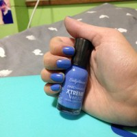 Product Review: Sally Hansen Hard As Nails XTREME WEAR Nail Polish (430, Royal Hue)