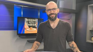 """Andew Rea of YouTube show """"Binging with Babish"""" joins us on FOX8. (Justyn Melrose/WGHP)"""