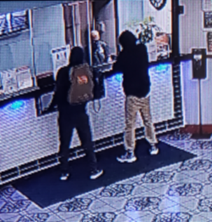 Burlington police asking for public's help finding 2 suspects accused of armed robbery