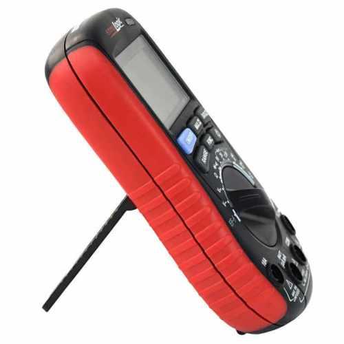 eM530S Digital Multimeter with Battery Tester side