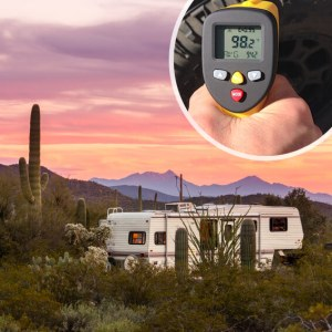 Infrared thermometers are useful and versatile tools for any RV toolbox.