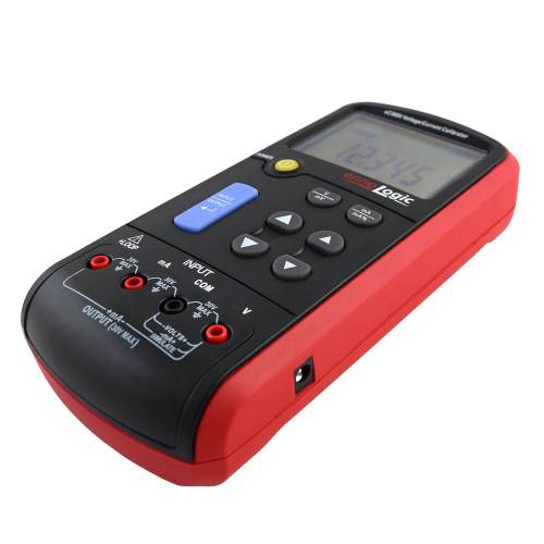 eC380V Volt mA calibrator 45 degree view