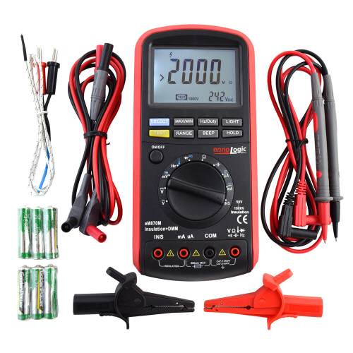 insulation tester megohmmeter package