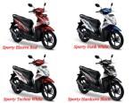 All New Honda Beat ESP Warna