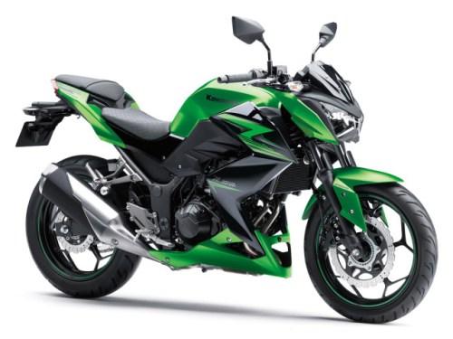 Kawasaki Z250 2015 Hijau