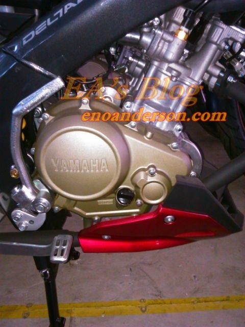 Cover Engine-Blok Mesin New Vixion Advance 2015