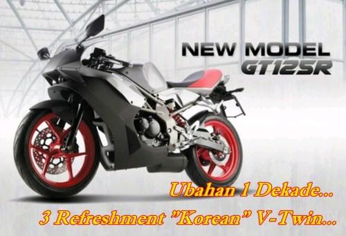 Hyosung GT12R Main
