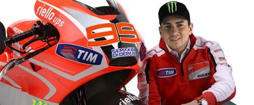 Jorge Lorenzo Ducati 4