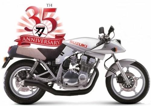 Suzuki GSX-S Katana 35th Anniversary