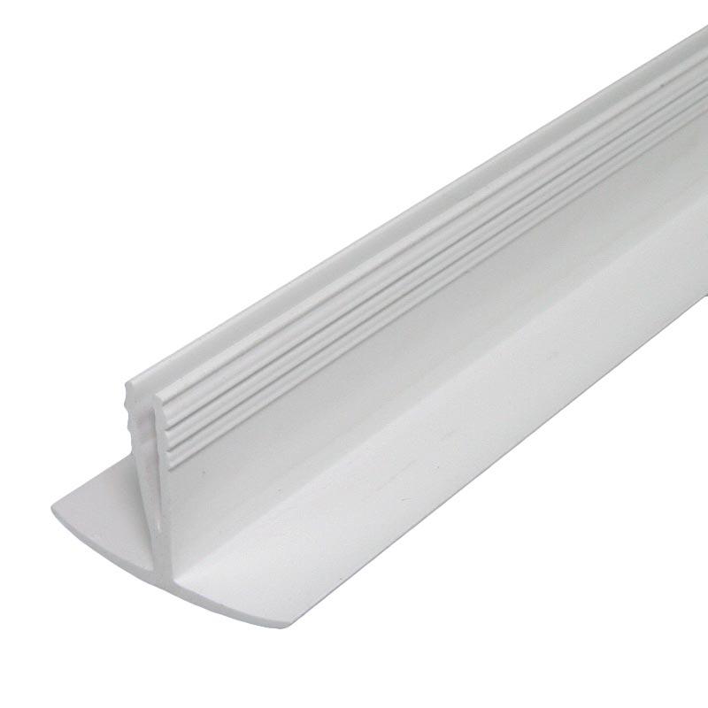 enobi Prix Deckel-Klemmprofil aus PVC für Rollladenkasten