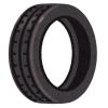 どんな走り方したらこうなるのか…修理工場に持ち込まれた「タイヤ」が異形すぎるw