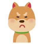 マッサージが嬉しいのか嫌なのかよくわからない表情を見せるワンコwww