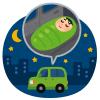 【恐怖】一人で車中泊してる時に窓をコンコンと叩く音がしたのでライトで照らしてみたら…😱